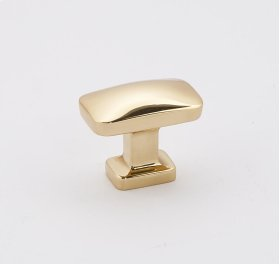 "CLOUD 1 1/4"" KNOB A252-14 - Polished Brass"