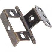 "3/4"" Frame x 3/4"" Door Flush Hinge Antique Brass"