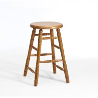 Dining - Classic Oak Backless Counter Stool Product Image