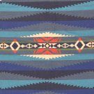 Lahaina Wave Turquoise Fabric Product Image