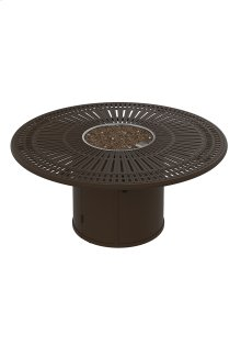 """Spectrum 55"""" Round Fire Pit, Manual Ignition"""