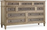 Sanctuary Ten Drawer Dresser-Pearl Essence Product Image