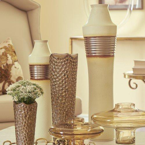 Machina Vase-Bronze-Sm