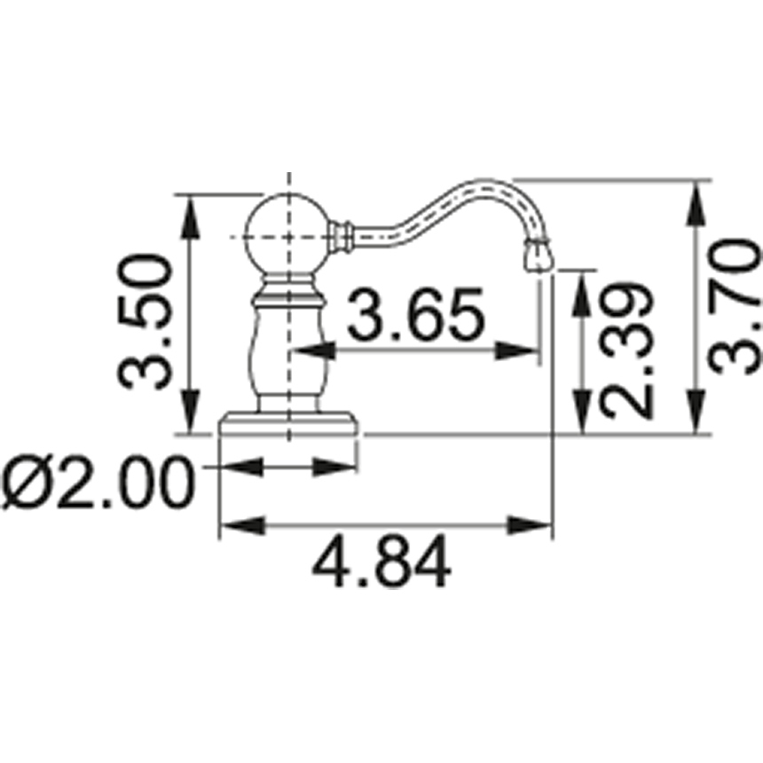 Sd6080 franke for Chatsworth bathroom faucet parts