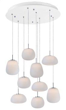 Puffs 9-Light Pendant