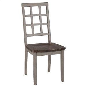 Hillsdale FurnitureGarden Park Dining Chair - Set of 2 - Gray With Dark Espresso (wirebrush)