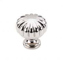 Melon Knob 1 1/4 Inch - Polished Nickel
