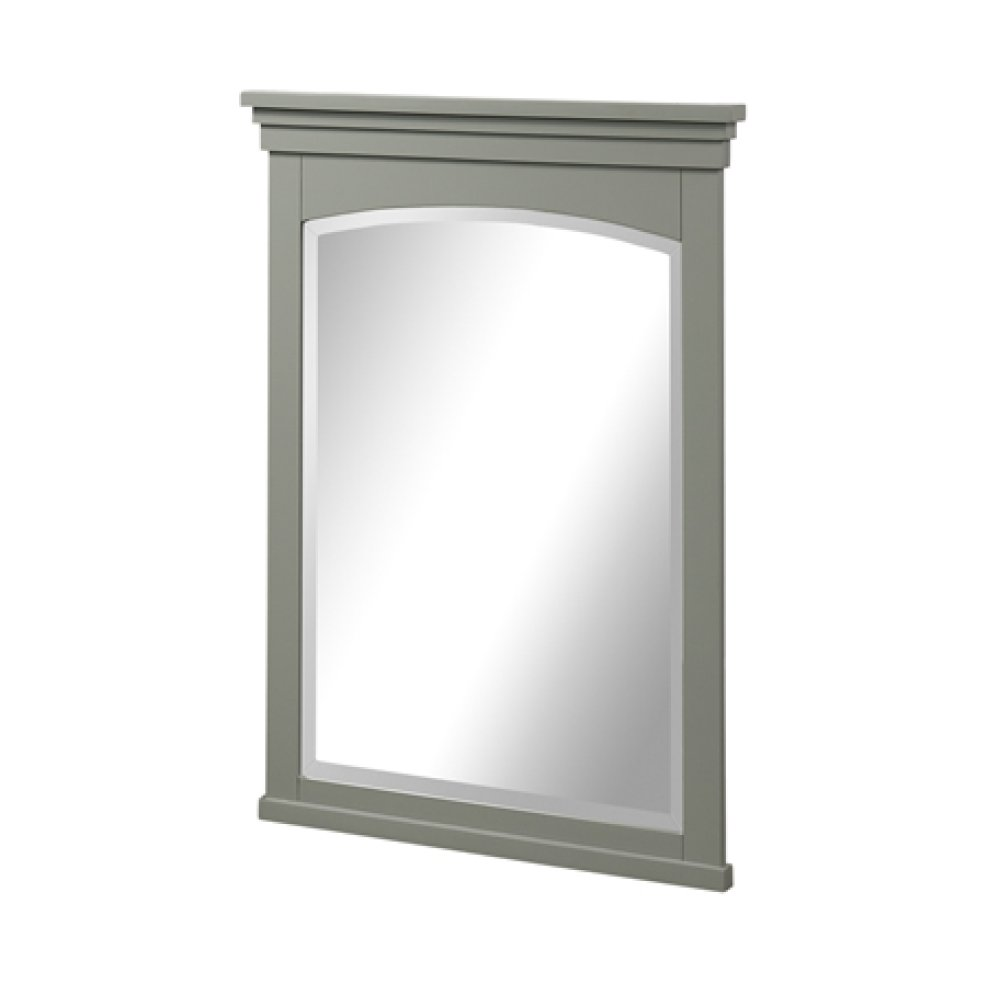 "Shaker Americana 24"" Mirror - Light Gray"