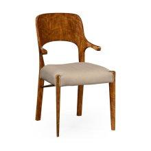 Hyedua Armchair, Upholstered in MAZO