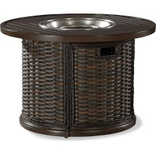 "South Hampton 36"" Round Gas Fire Pit"