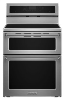 30-Inch 4-Element Induction Double Oven Convection Range - Stainless Steel