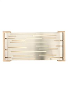 Satin Nickel with Maple Wood Trim Revel Wall