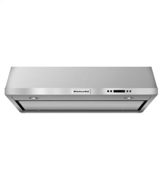 """36"""" Under-the-Cabinet 3-Speed Canopy Hood - Stainless Steel"""