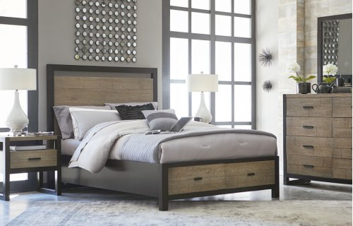 Helix Panel Bed with Storage 6/6 - King