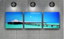 Blue Heaven Acrylic Picture