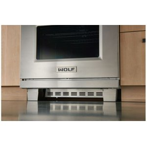 "Wolf30"" Dual Fuel and Induction Range Kickplate"