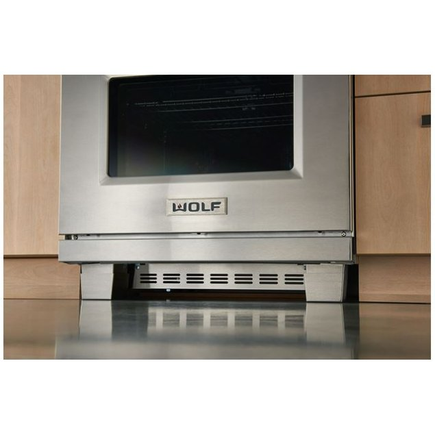 """Wolf 30"""" Dual Fuel and Induction Range Kickplate"""
