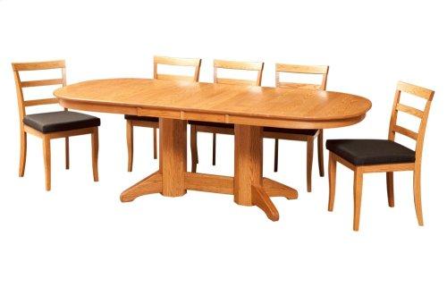 """42/64-2-12"""" Erickson Octagon Trestle Table"""