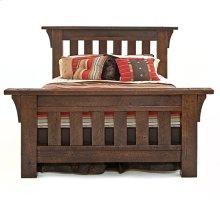 Oak Haven Bed - Queen Bed (complete)