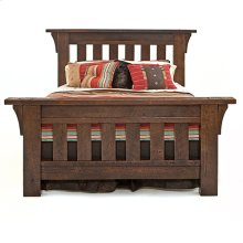 Oak Haven Bed - Queen Bed (complete)