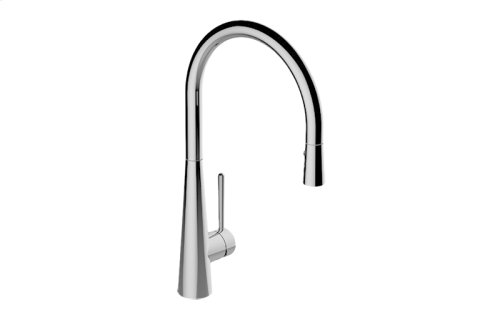 Conical Pull-Down Kitchen Faucet