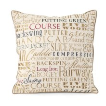 PGA TOUR Clubhouse Embroidered Pillow