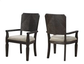 Arm Chair W/upholstered Seat & Back Rta