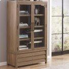 Mirabelle - Cabinet Bookcase - Ecru Finish Product Image