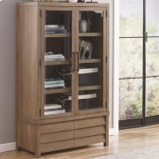 Mirabelle - Cabinet Bookcase - Ecru Finish Product Image