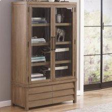 Mirabelle - Cabinet Bookcase - Ecru Finish