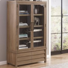 Mirabelle - Cabinet Bookcase - Ecru Finish