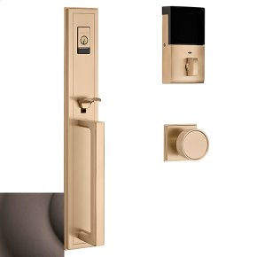Venetian Bronze Evolved Hollywood Hills Full Escutcheon Handleset