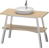 Vanity Unit Floorstanding, Vintage Oak (solid Wood)