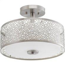 "Mingle LED Collection 14"" Semi-Flush Mount"