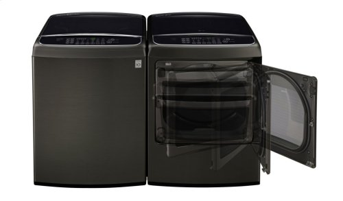 5.0 cu. ft. Ultra Large Capacity Front Control Top Load Washer with TurboWash®