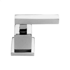 Uncoated Polished Brass - Living Diverter/Flow Control Handle - Cold