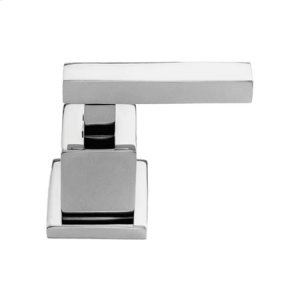 Matte White Diverter/Flow Control Handle - Cold