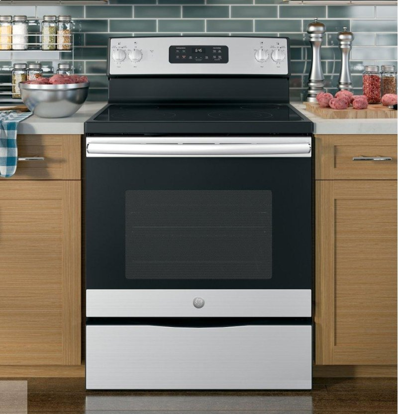 JB645RKSS in Stainless Steel/black by GE Appliances in Tampa, FL ...