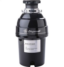 GE® 1 Horsepower Continuous Feed Disposer