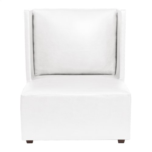 Square Chair Atlantis White