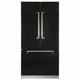 "Black AGA Marvel Legacy 36"" French Door Counter Depth Refrigerator"