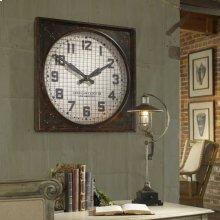 Warehouse Clock w/ Grill