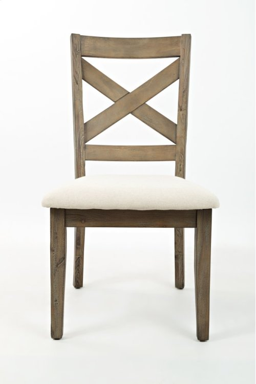 Hampton Road X Back Dining Chair
