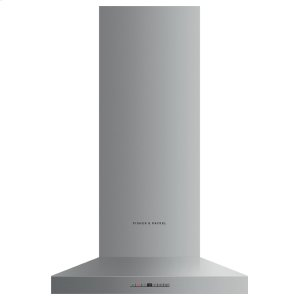 "Fisher & PaykelWall Range Hood, 24"", Pyramid Chimney"