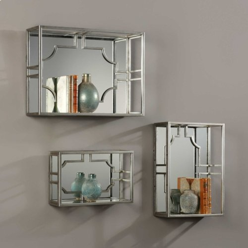 Adoria Wall Shelves, S/3