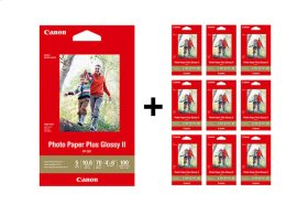 Canon Photo Paper Plus Glossy II 4x6 - 1,000 Sheets