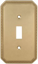 Single Beaded Switchplate Product Image