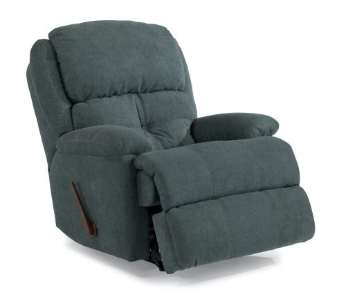 Cruise Control Leather or Fabric Rocking Recliner