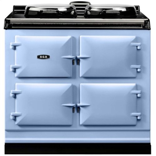 White AGA Dual Control 3-Oven All Electric