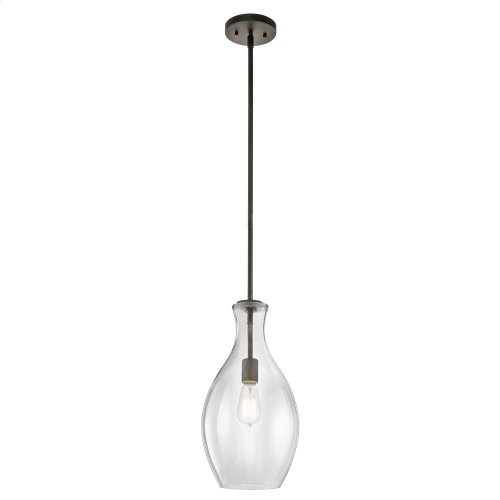 Everly Collection Everly-1 Light Pendant  Olde Bronze